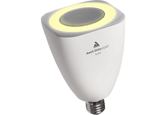 AWOX Ledlamp met Bluetooth luidspreker StriimLight White E27 8 W (SL-B10)
