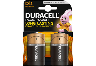 DURACELL Plus Power Alkaline D2-pack
