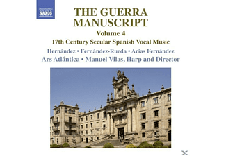 Hernandez/Fernandez-Rueda/Vilas/Ars Atlantica - The Guerra Manuscript Vol.4 - (CD)