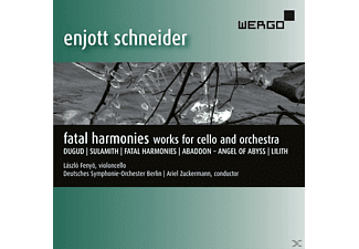 Laszlo Fenyo - Fatal Harmonies-Works For Cello And Orchestra - (CD)