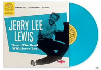 Jerry Lee Lewis - Down The Road With Jerry Lee - (EP (analog))