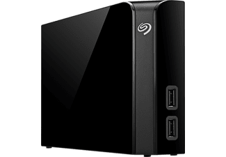 SEAGATE Backup Plus Hub 4 TB - Svart