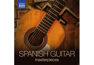 VARIOUS - Spanish Guitar Masterpieces - (CD)