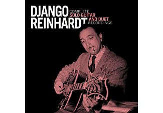 Django Reinhardt - Complete Solo Guitar and Duet Recordings (CD)