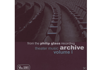 Philip Glass - THEATER MUSIC              V.1 - (CD)