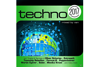 VARIOUS - Techno 2017 [CD]