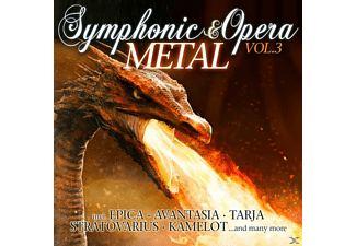VARIOUS - Symphonic & Opera Metal Vol.3 - (CD)