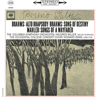 Mildred Miller, Columbia Symphony Orchestra, The Occidental College Concert Choir - Alto Rhapsody, Song Of Destiny, Songs Of A Wayfarer [Vinyl]