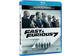 A Todo Gas 7 (Fast And Furious 7) - Blu Ray