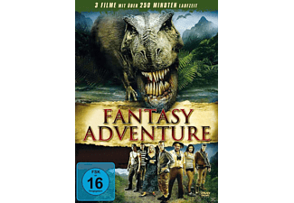 Dinosaurier Action, Fantasy Adventure: The Land That Time Forgot, 100 Million BC, Princess of Mars - (DVD)