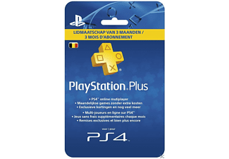 PlayStation Plus 3 maand België