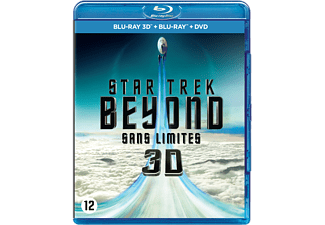 Star Trek Beyond DVD + Blu-ray 3D + 2D
