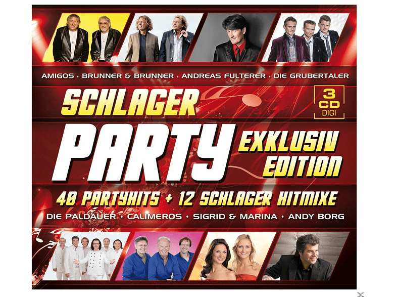 VARIOUS - Schlager Party - Exklusivedition [CD]