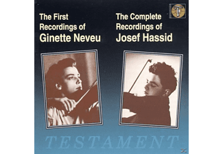 Ginette Neveu, Josef Hassid - First Recordings - (CD)