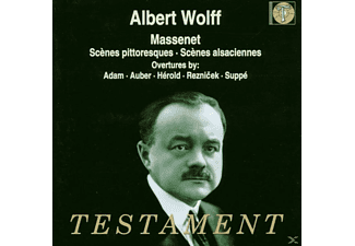 Wolff, Orchestre De La Societe - Suiten 4 & 7/Ouvertüren - (CD)