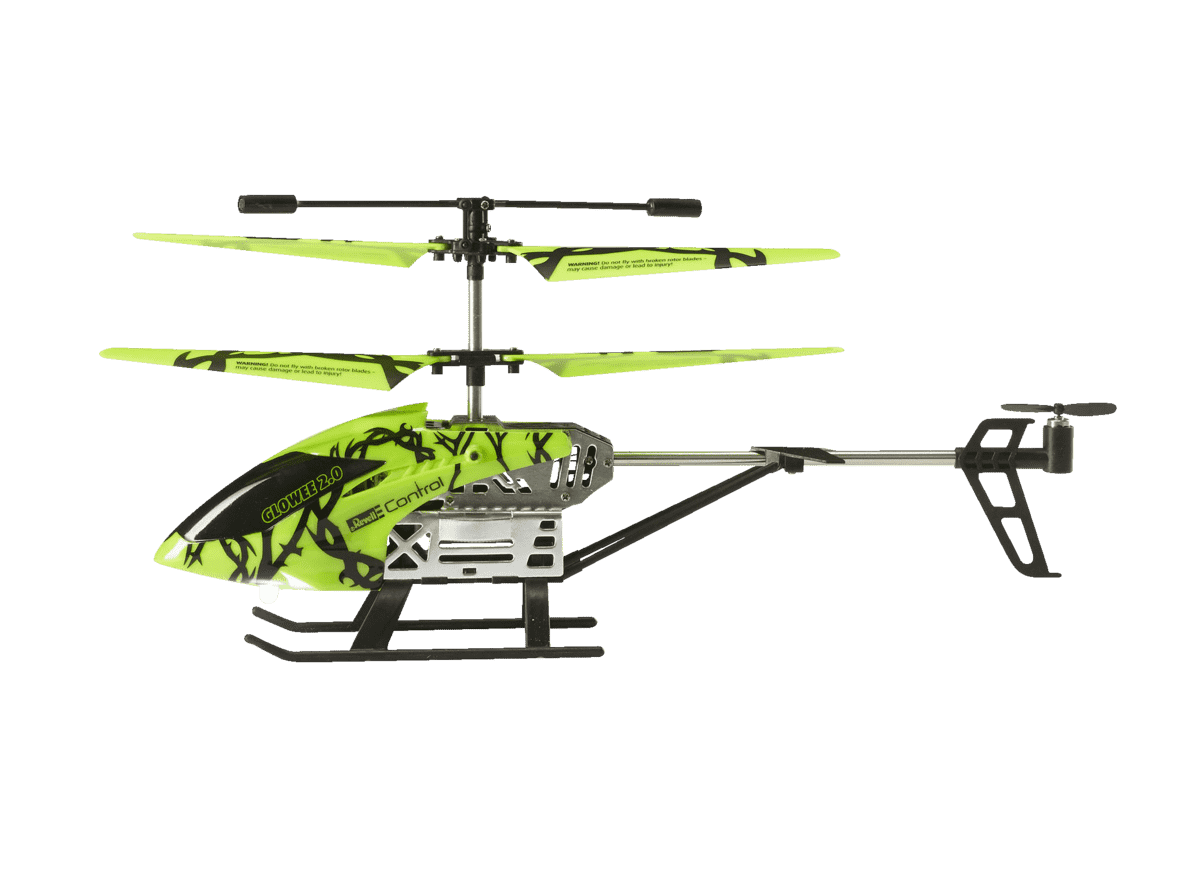 REVELL 23940 Helicopter Glowee 2.0 RC Helikopter Grün/Schwarz