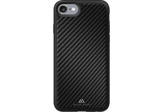 BLACK ROCK Hard cover Material Case Real Carbon iPhone 7 Noir (180029)