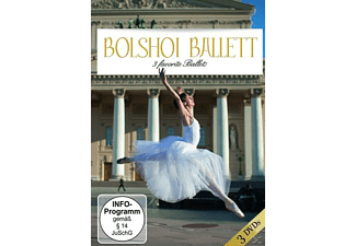 The Bolshoi Theatre Orchestra - Bolshoi-Ballet Three Favorites Ballets - (DVD)