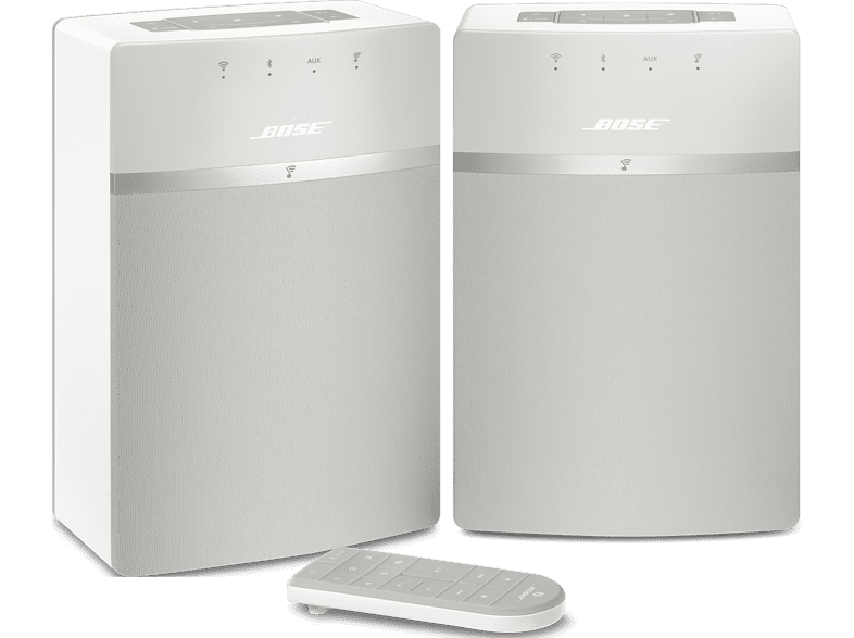 BOSE SoundTouch 10 Series III Wi-Fi music system 2 stuks Wit (775434-2200)