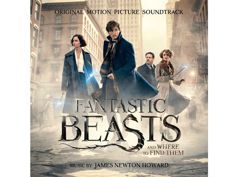 James Newton Howard - Fantastic Beasts a.Where to Find Them/OST Deluxe [CD]