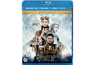 The Huntsman: Winter's War Blu-Ray 3D + 2D + DVD