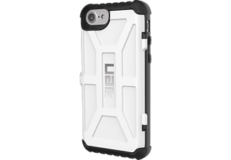 URBAN ARMOR GEAR Trooper Card Handyhülle, Weiß/Schwarz, passend für Apple iPhone 6, iPhone 6s, iPhone 7