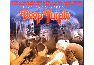 Deep Purple - Live Encounters 2cd+Dvd Jewelcase - (CD + DVD Video)