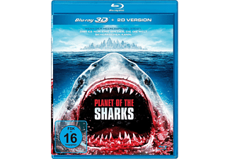 Planet of the Sharks - Uncut Edition - (3D Blu-ray (+2D))