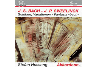 Stefan Hussong - Goldberg-Variationen - (CD)