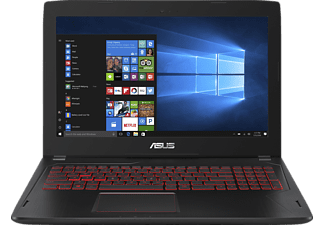 ASUS FX502VM-FY249T, Gaming Notebook mit 15.6 Zoll Display, Core™ i7 Prozessor, 8 GB RAM, 512 GB SSD, GeForce GTX 1060, Schwarz