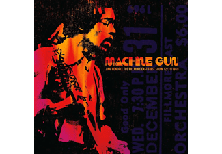 Jimi Hendrix - Machine Gun (The Filmore East First Show 12/31/1969) CD