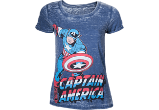 Heren T-shirt - Captain America, maat S | T-Shirt