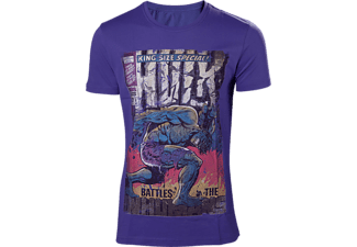 Heren T-shirt - Hulk, maat S | T-Shirt