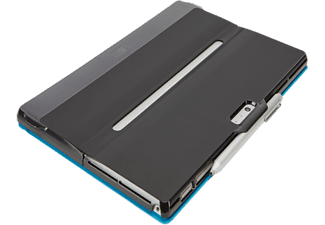 CASE LOGIC Bookcover Kickback snap-on Surface Pro 4 Zwart (CKSE2197K)