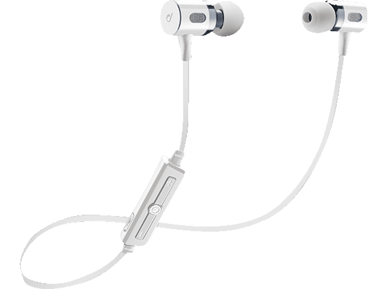 CELLULAR LINE 37882 Mosquito W, In-ear Headset, Weiß