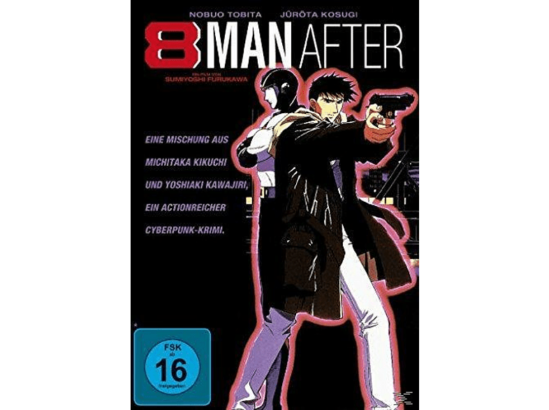 8 Man After - Cyber Desperado [DVD]