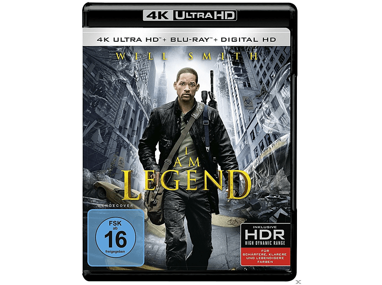 I Am Legend (+ Digital Ultraviolet)  [4K Ultra HD Blu-ray]