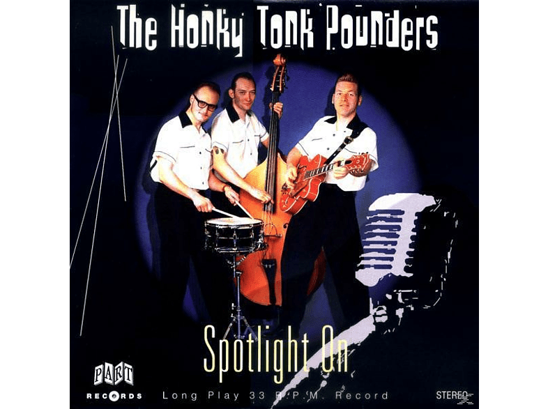 "Honky Tonk Pounders - Spotlight On (10"") [Vinyl]"