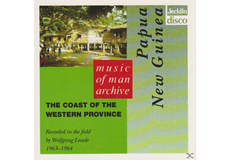 VARIOUS - Papua New Guinea - The Coast Of The Western Province - (CD)