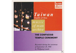 VARIOUS - Taiwan - The Confucius Temple Ceremony - (CD)