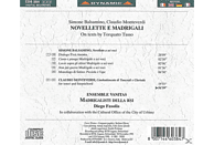 VARIOUS - Novellette e Madrigali [CD]