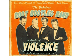 The Root Bootleg Band - A Taste Of Violence - (CD)