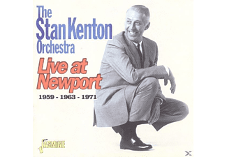 Stan Orchestra Kenton - Live At Newport 1959-1963-1971 - (CD)