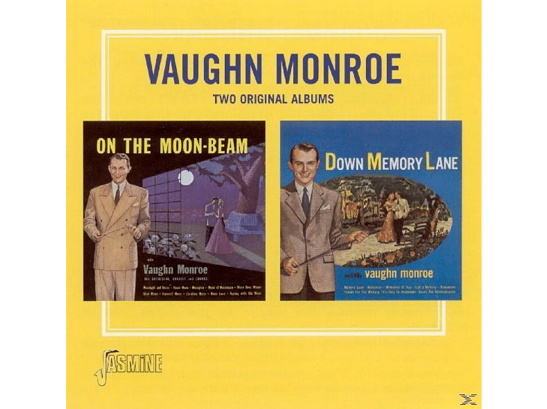 Vaughn Monroe - On The Moon Beam & Down Memory Lane [CD]