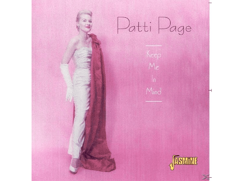 Patti Page - Keep Me In Mind [CD]