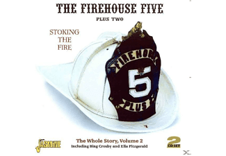 The Pus Two Firehouse Five - STOCKING THE FIRE - (CD)