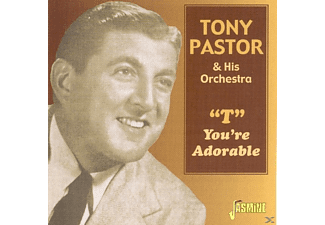 "Tony Orchestra Pastor - ""T""  You're Adorable - (CD)"