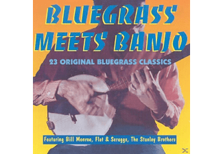 VARIOUS - BLUEGRASS MEETS BANJO - (CD)