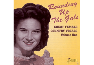 VARIOUS - Rounding Up The Gals-Great Female Country Vocals - (CD)