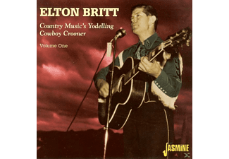 Elton Britt - Country Music's Yodeling Cowboy - (CD)